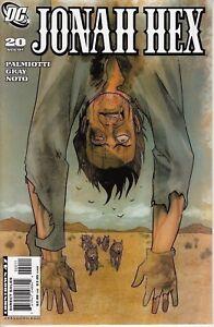 DC Comics Jonah Hex #20 of 70, 2007 Fine