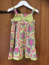 Next lovely Girls Summer Dress Age 9-12 Months 100% Cotton
