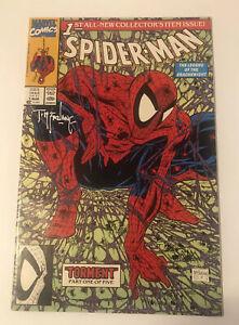 Todd McFarlane Signed. Spider-Man #1. Red Stamp