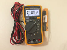 LIGHTLY USED  FLUKE 117 TRMS MULTIMETER MORE! SN#38192340WS TP#217246