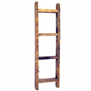 Small Wooden Decorative Ladder 20 inches - Farmhouse Country Rustic Craft Decor