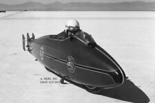 Indian Scout Burt Munro special at Bonneville 1967 Land World Speed Record photo