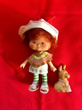 "Vintage Strawberry Shortcake Doll "" Cafe Ole' "" 1979 & ""Burrito"" 1983"