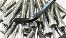 HEX SCREW SET STAINLESS STEEL SUITABLE FOR NORTON COMMANDO 850 MK3.