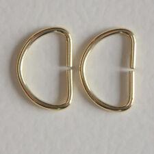 D Rings - 20mm Gilt - pack of 100