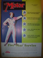 VINTAGE MOTOR MAGAZINE MARCH 14 1951 FORD FIVE STAR SERVICE