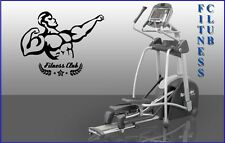 Wall Stickers Vinyl Decal Fitness Club Gym Mr. Olympia Sport Muscled (ig1071)