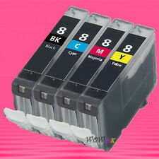 4P CLI-8 INK CARTRIDGE FOR CANON IP5200R IP4300 IP4500 MP600 MP960 MP810 MP830