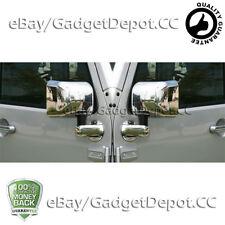 For 2007-2011 2012 2012 2013 2014 2015 JEEP WRANGLER Full Chrome Mirror Cover
