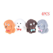 4pcs Mini Fairy Garden Ornament Dog Decor Pot Craft Dollhouse AccessoriesAtus