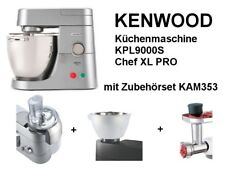 KENWOOD Küchenmaschine KPL9000S Chef XL PRO + KAM353