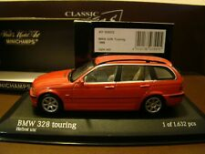 Minichamps BMW 328 Touring 1999 - hellrot uni - 1/43 - ref. 431028312