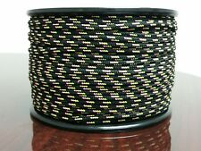 Tobby SPG Lace Cord 100 meter ( 328' ) roll Black / Pink / Yellow