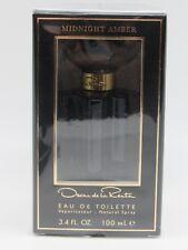 Oscar Midnight Amber by Oscar De La Renta 3.4 oz EDT Perfume for Women NIB