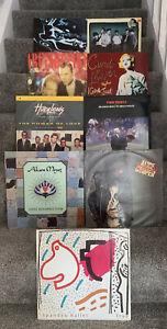 "9 x 12"" Vinyl 12"" Singles Bundle, Job Lot. All In Good Condition + 80s Pop 3526"