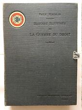 HISTOIRE ILLUSTRE GUERRE DROIT 1914  1918 FASCICULE N°1 à 25 HINZELIN QUILLET