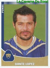243 DANTE LOPEZ PARAGUAY PUMAS UNAM Genoa CFC PRIMERA DIVISION 2010 PANINI
