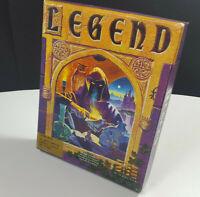 Legend The Four Crystals of Trazer Commodore Amiga Spiel Big Box OVP CIB Boxed