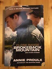 Brokeback Mountain and Other Stories. Film Tie-in von Annie Proulx (2006,...