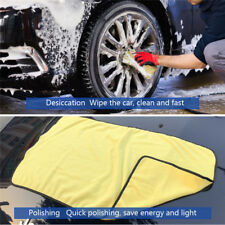 Car Wash Microfiber Towel Super Absorbent Cleaning Drying Cloth Duster 92*56cm