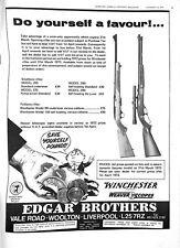 Original Vintage 1970s Winchester rifle Advert-Shooting Times Mag 13 Jan 1973