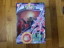 "Power Rangers Evil Space Aliens 1993 8"" Rhino Blaster Complete In Box lot legacy"