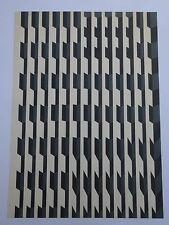 DONALD ROBERTS BLACK PROJECT VAIR 66 LITHOGRAPH 2/10 OHIO UNIVERSITY OPTICAL MCM