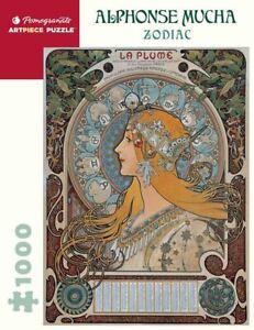 Alphonse Mucha: Zodiac 1000 Piece - Jigsaw Puzzle