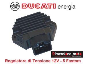"""9003 - REGOLATORE di TENSIONE 12V """"DUCATI"""" per HONDA CBR 600 F dal 1999 >2000"""