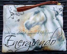 Carla Elena Artist Wristlet Leather Bag Horse Emergiendo Purse Art To Wear