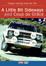 A Little Bit Sideways -  70s Rallying (New DVD) Rally Ford Escort Mk2 Mikkola
