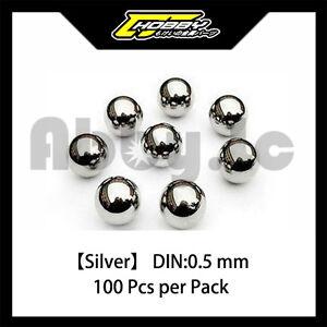 100PCs Armor Detail-up 0.5mm Metal Silver Bead Ball Parts For MG HG Gundam Model