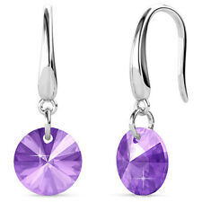 TIMELESS CRYSTAL DROP EARRINGS PURPLE FT. CRYSTALS FROM SWAROVSKI KCE879PU
