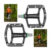A Pair of Mountain Bike Flat Pedal MTB Bicycle Clip Board Magnesium Alloy