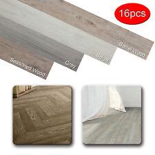Odorless Vinyl Floor Planks Adhesive Floor Tiles 2.0 mm Thick 16 Pieces