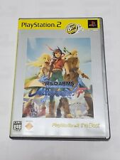 Wild Arms Alter code F Sony Playstation 2 2006 Japanese Version Used Very Good