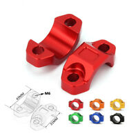 "Universal Aluminum CNC Brake Clutch Perch 22MM 7/8"" Handlebar Rotating Bar Clamp"