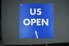 2012 US Open Grounds Stadium Sign! Tennis Stadium Memorabilia Sign!