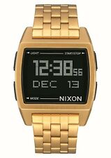 Nixon Herrenuhr digital Uhr Base All Gold A1107502
