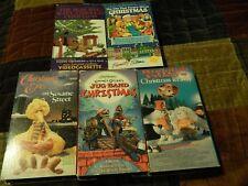 Christmas Eve on Sesame Street_Emmet Otter_Christmas in July_ + (VHS x 5) LOT