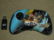 Sony Playstation 3 PS3 Inalámbrico Street Fighter IV 4 controlador de pad de lucha-Guile
