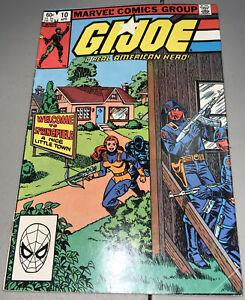 GI Joe #10 Marvel 1983 1st App Appearance Dr Venom 1st Print
