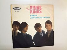 """KINKS: Cadillac- Just Can't Go To Sleep-Germany 7"""" 1965 Pye Vogue DV 14340 P PSL"""