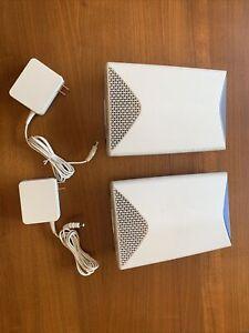 NETGEAR SRK60100NAS Orbi Pro AC3000 Tri Band Whole Home Wi-Fi System -2 Pieces -