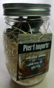Pier 1 Imports Whiskey Stones In Pint Mason Jar With Tags Barware Drink