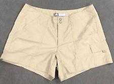 Nike ACG Cargo Hiking All Condition Gear Tan Shorts Womens Size 8 EUC