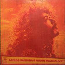 CARLOS SANTANA & BUDDY MILES - Live Cassette Tape - Sealed - Blues Rock