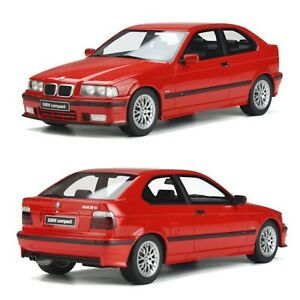 1/18 Ottomobile BMW E36 Compact 323Ti 1998 Red Neuf Livraison Domicile JANVIER