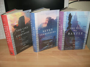 Ada Palmer Signed Terra Ignota series Too Like The Lightning match numbered 1st