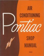 1955 Pontiac Air Conditioning Control Shop Service Repair Manual Book